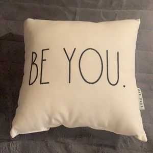 Brand New Rae Dunn Be You Small Pillow